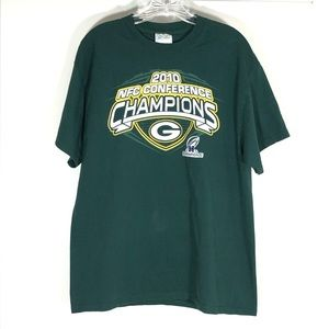 Green Bay Packers 2010 T-shirt Sz Large